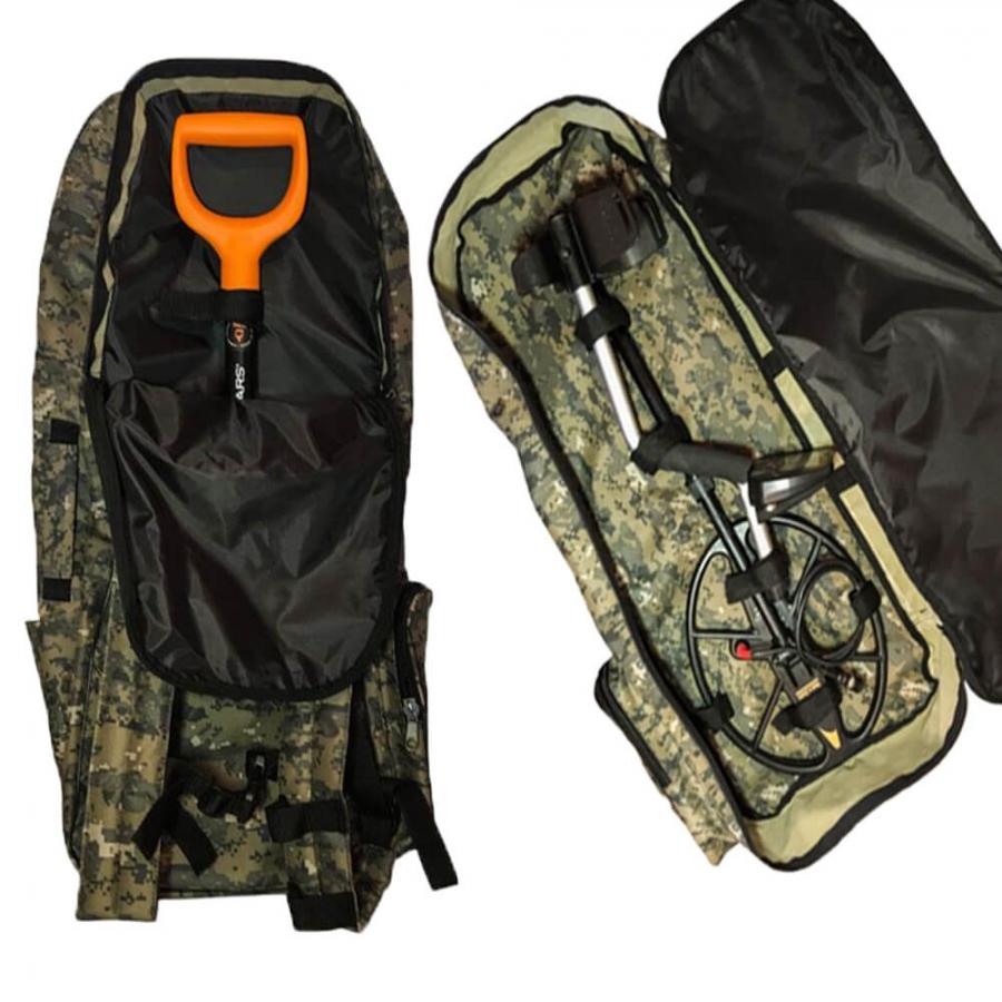 Рюкзак для металлоискателя, лопаты, походный, туристический - 1