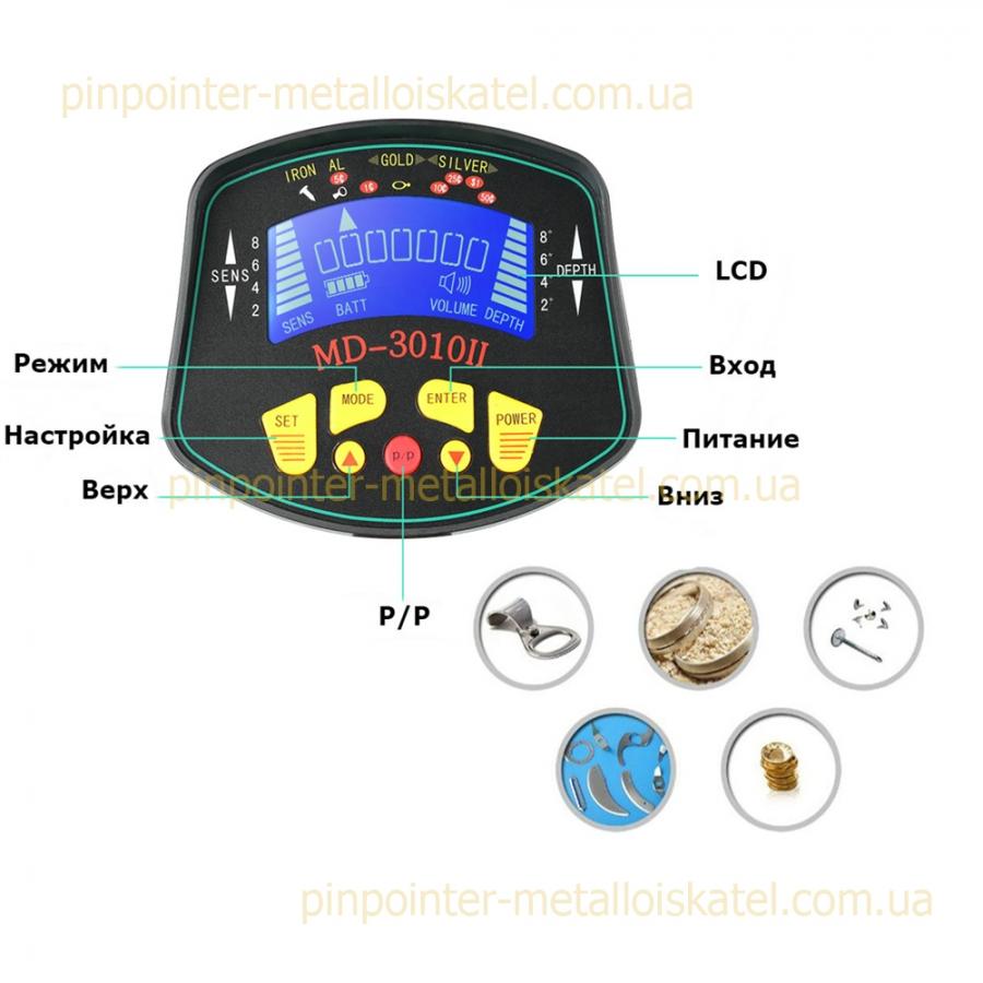 Металлоискатель MD 3010 II - 1